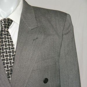 Istante by Versace Double Breasted Suit 38R